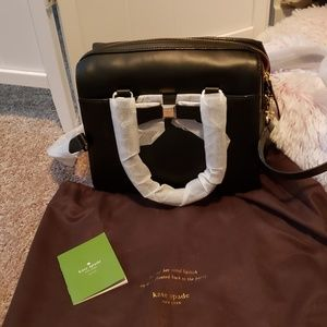 Kate Spade leather Satchel NWT